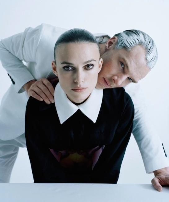 Keira Knightley y Benedict Cumberbatch por 'The Imitation Game'.
